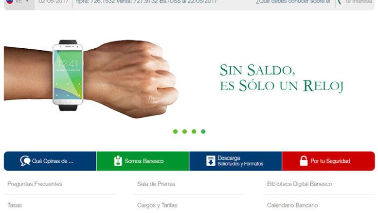 Banesco renovó su imagen online 777x437 - Banesco renovó su imagen online